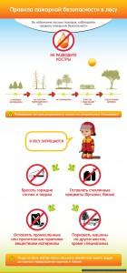 Правила пожарной безопасности в лесу.